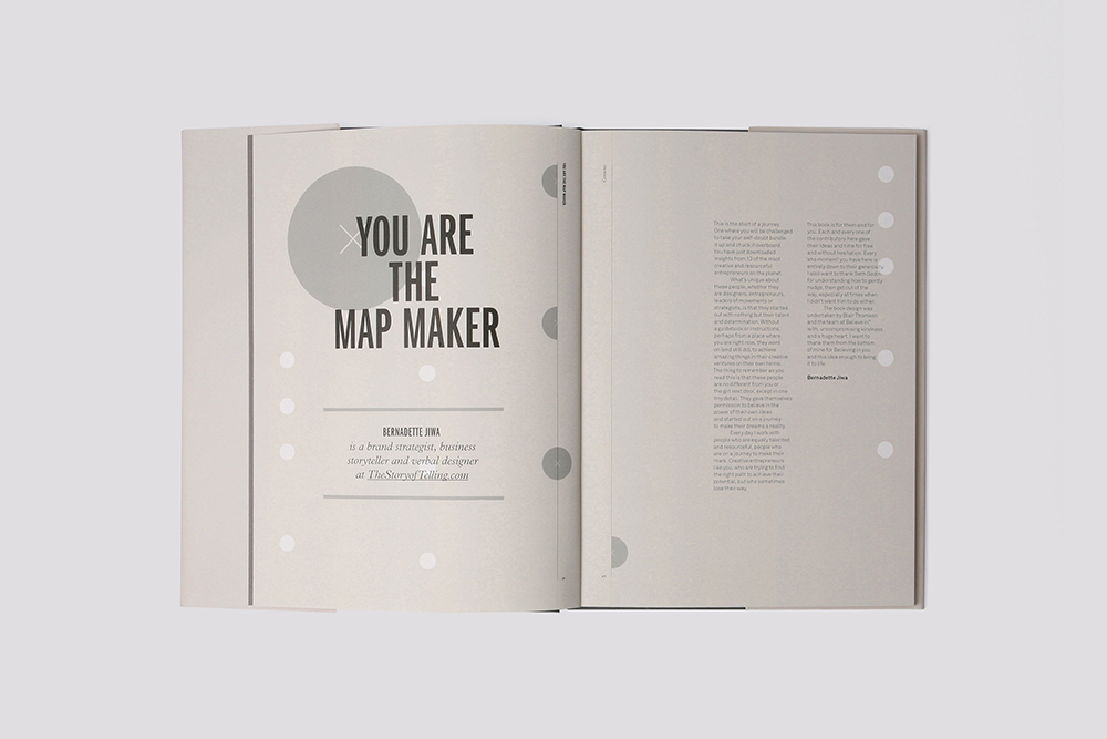 You Are The Map Maker