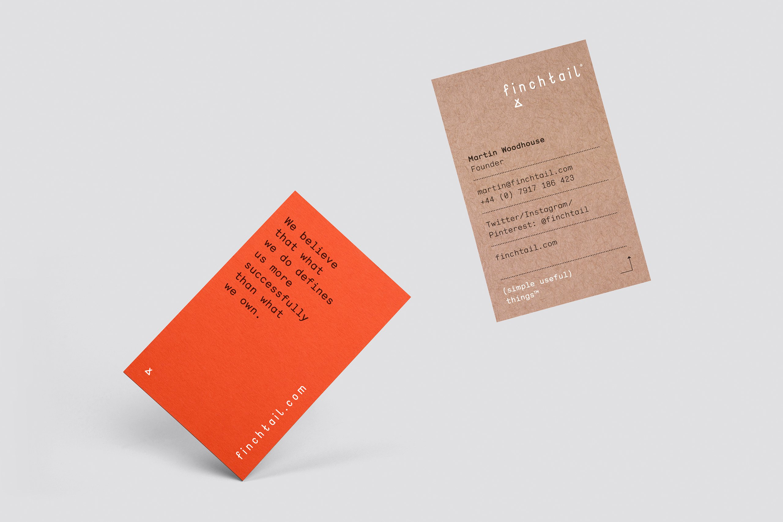 Finchtail - Brand & packaging